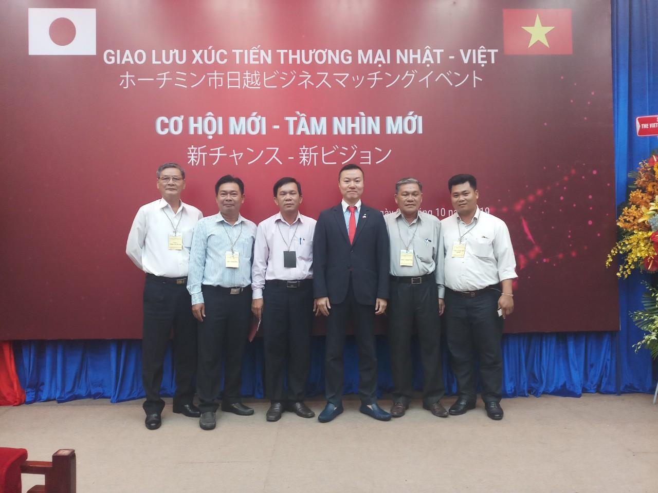Delegation of Long An province's business attends the conference on Japan-Vietnam trade promotion in Ho Chi Minh city