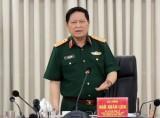 Gặp mặt đại biểu Quân đội dự Hội nghị 11 BCH Trung ương khóa XII