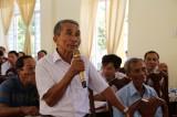 Đại biểu Quốc hội tiếp xúc cử tri tại Vĩnh Hưng