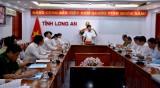 Long An: Hội nghị trực tuyến về công tác xử lý vi phạm hành chính