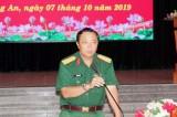 Bộ Chỉ huy Quân sự tỉnh Long An đối thoại trực tiếp cán bộ, nhân viên Khu vực Sở chỉ huy năm 2019
