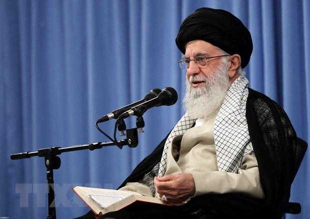 Đại giáo chủ Ali Khamenei phát biểu tại Tehran, ngày 17/9. (Nguồn: AFP/TTXVN)