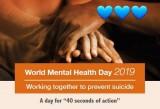 Ngày Sức khỏe tâm thần thế giới 10/10 - '40 giây hành động'