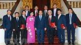 Thủ tướng tiếp các Đại sứ, Trưởng cơ quan đại diện tại nước ngoài