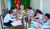 Ủy ban Kiểm tra Huyện ủy Tân Hưng thực hiện tốt công tác kiểm tra, giám sát