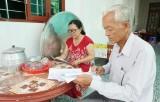Người cao tuổi xã Mỹ Lộc tham gia bảo vệ an ninh Tổ quốc