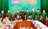Hội đàm Hợp tác bảo vệ an ninh trật tự biên giới Long An – Svay Rieng