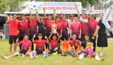 Thị trấn Tầm Vu vô địch giải bóng đá các câu lạc bộ huyện Châu Thành