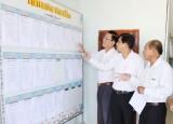 Xây dựng lịch làm việc - cách làm hay ở xã Phước Đông