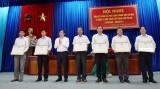44 tập thể, 119 cá nhân được khen thưởng trong đợt thi đua chào mừng 10 năm thành lập TP.Tân An