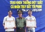 Công an huyện Tân Trụ: Vì dân phục vụ