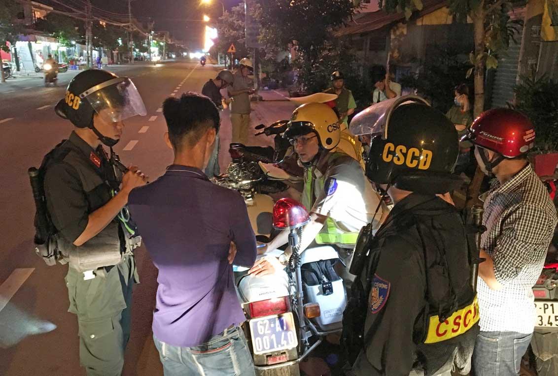Lực lượng 209 tuần tra phòng, chống tội phạm
