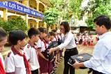 Điện lực Tân Hưng tuyên truyền tiết kiệm điện trong trường học