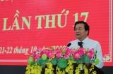 Thông báo kết quả Hội nghị lần thứ 17, Ban Chấp hành đảng bộ tỉnh Long An khóa X, nhiệm kỳ 2015 - 2020