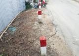 Cần Giuộc: Nguy cơ sạt lở mố cầu Rạch Ván - ĐT826C