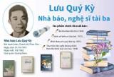 [Infographics] Lưu Quý Kỳ - Một trong những nhà báo, nghệ sỹ tài ba