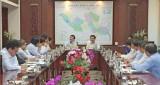 Nguyên Chủ tịch nước - Trương Tấn Sang thăm và làm việc với lãnh đạo tỉnh Long An