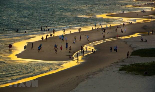 Bai Sau beach in Vung Tau city (Photo: VNA)