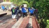 Đoàn viên, thanh niên huyện Tân Thạnh: Chung sức xây dựng nông thôn mới