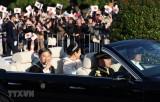 Nhật Bản: Lễ diễu hành sau đăng quang của Nhật hoàng Naruhito