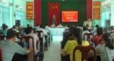 Đại biểu HĐND tỉnh Long An tiếp xúc cử tri tại huyện Cần Giuộc