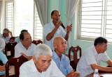 Đại biểu HĐND tỉnh Long An tiếp xúc cử tri Cần Đước