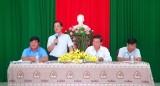 Bí thư Huyện ủy Bến Lức đối thoại cán bộ, đảng viên về bồi thường giải phóng mặt bằng