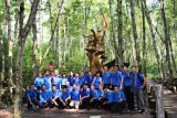 Tuổi trẻ Long An về nguồn tại Chiến khu Rừng Sác