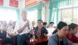 Đại biểu HĐND tỉnh Long An tiếp xúc cử tri TP.Tân An