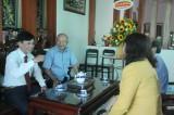 Lãnh đạo tỉnh Long An thăm, chúc mừng các nhà giáo nguyên là lãnh đạo tỉnh