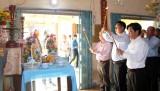 Thủ Thừa: Họp mặt kỷ niệm 57 năm ngày hy sinh của Liệt sĩ Phan Văn Tình