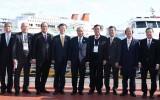 Thủ tướng Nguyễn Xuân Phúc thăm Cảng biển Busan