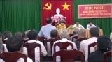 Đại biểu HĐND thị xã Kiến Tường tiếp xúc cử tri phường 1