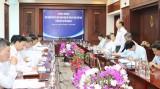Ban Thường trực Ủy ban Trung ương MTTQ Việt Nam làm việc tại Long An