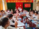 Bến Lức: 46/224 chi bộ trực thuộc Đảng ủy cơ sở tổ chức xong đại hội