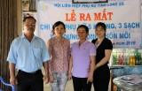 Hội LHPNVN tỉnh Long An ra mắt Chi hội phụ nữ 5 không 3 sạch xây dựng nông thôn mới