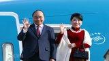 Lễ đón Thủ tướng Nguyễn Xuân Phúc thăm chính thức Hàn Quốc