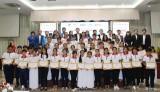 SCG trao 50 suất học bổng, đồng hành cùng ước mơ cho học sinh Long An