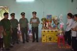 Công bố quyết định thăng cấp hàm vượt cấp cho Trung úy Công an tử nạn khi bắt tội phạm