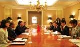 Tăng cường quan hệ hữu nghị, hợp tác với Nhật Bản