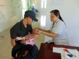 Châu Thành: Gần 4.000 trẻ được uống vitamin A