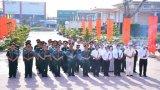 Đoàn cán bộ Tổng cục Chính trị Quân đội nhân dân Việt Nam viếng Nghĩa trang Liệt sĩ tỉnh Long An