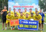 Thiên Long FC vô địch giải bóng đá 7 người