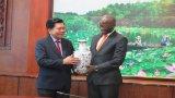 UBND tỉnh Long An làm việc với Giám đốc Quốc gia, Ngân hàng Thế giới tại Việt Nam