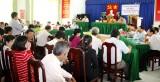 Chủ tịch UBND huyện Cần Đước tiếp xúc, đối thoại với nhân dân xã Tân Lân