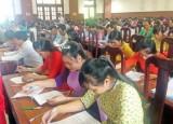 Đức Huệ tổ chức Hội thi giáo viên dạy giỏi, tổng phụ trách đội giỏi