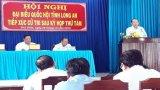 Đại biểu Quốc hội, Phó Thủ tướng Thường trực Chính phủ - Trương Hòa Bình tiếp xúc cử tri Thủ Thừa
