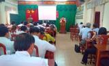 Kiểm tra công tác phổ cập giáo dục tại huyện Bến Lức