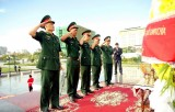 75 năm QĐND Việt Nam: Dâng hương Đài Hữu nghị Việt Nam-Campuchia