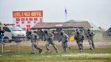 Việt Nam – Campuchia diễn tập cứu hộ, cứu nạn khu vực biên giới trên đất liền